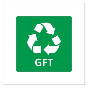 Recycle sticker GFT